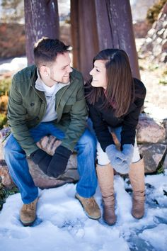 winter engagement. Cassidy Brooke