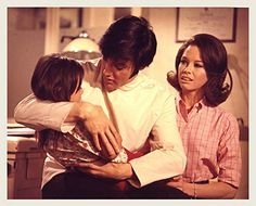 This was a controversial scene. It involved a technique designed to bring an autistic child out of their shell. For this scene there were child development specialists on the set sanding off camera to supervise the filming of this scene. 31 Film, Barbara Mcnair, Change Of Habit, 1969 Movie, Elvis Presley Movies, King Creole, Lisa, Mary Tyler Moore, Autistic Children