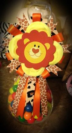 Guess how many gumballs II Lion King Baby Shower II Catch My Party