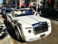 I love the new Rolls Royce convertible.