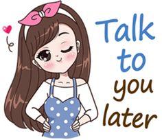 Hi ! My name is Boobib.I like to wear polka dot dress. Let enjoy with my lovely stickers.