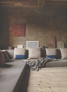 "Because I could spend hours here reading and thinking and dreaming. ( via Axel Vervoordt-'s-Gravenwezel-Castle-Belgium-Elle Decoration ""Country""issue-Winter 2015-Michael Paul)"