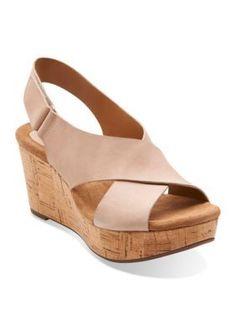 24a4b942de5 19 Best nude wedge sandals for McK wedding images