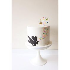 We think its pretty safe to assume that everyone has seen or read, the classic story of Peter Pan has fallen deeply in love with the adventurous tale about a boy who just didnt want to grow up. Pretty Cakes, Cute Cakes, Beautiful Cakes, Amazing Cakes, Fondant Cakes, Cupcake Cakes, Peter Pan Cakes, Fancy Cakes, Pink Cakes