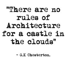 "Love this quote by GK Chesterton Taken from his 1925 book ""The Everlasting Man"" Check out my blog for more inspirational quotes."