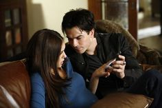 The Vampire Diaries Season 6 Spoilers: Damon and Elena Get Back ...