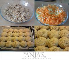 Fedtfattige boller - Sund og nem opskrift til morgenmad og frokost