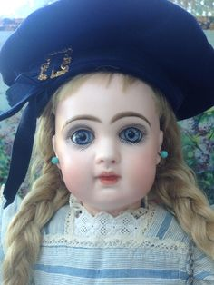 "Exceptionally Pretty 15"" Bebe Jumeau size 6 from my-french-treasure on Ruby Lane"