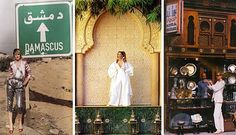 Stella Tennant photographed in Damascus by Tom Craig for British Vogue's May 2009