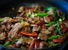 Leftover Beef Stir Fry