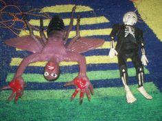 Ben Cooper male creature people vintage rubber monster jiggler & prisoner ahi | eBay