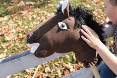 Stick Horse by LittleBuckarooShop on Etsy