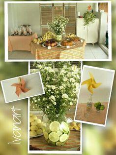 Decoração Tropical http://www.ivanartartesedecoracoes.blogspot.com.br/2014/05/decoracao-coffee-break-tropical-feito.html