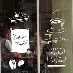 shop window decals - Google Search