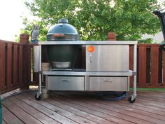 Wood or Stainless Steel table? - Big Green Egg - EGGhead Forum - The Ultimate Cooking Experience...