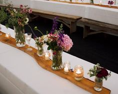 Rustic Wooden Table Runners