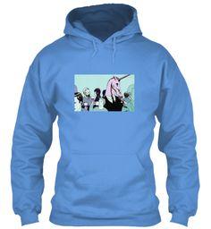 Triple Helix Clothing (Laughter) #6 Carolina Blue Sweatshirt Front