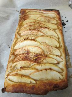 MyFridgeFood - Apple Tart 1 Frozen filo dough sheet (can be used whole or divided in half) 3 apples 1/4 cup brown sugar pinch cinnamon or nutmeg (depending on your preference)