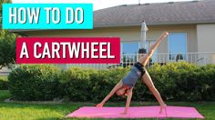 Beginner Gymnastics: How to do a Cartwheel. its not that hard, i promise!!