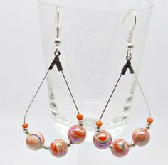 Your place to buy and sell all things handmade Halloween Earrings, Christmas Earrings, Prom Earrings, Beaded Earrings, Orange Earrings, Sell On Etsy, Gifts For Women, Best Gifts, Handmade Items