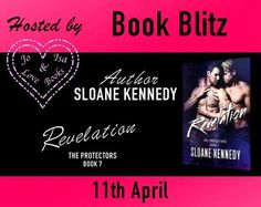 LIVE NOW!!RevelationThe Protectors #7By Sloane KennedyHosted by Jo&Isalovebooks Blog  I trusted once. I wont make that mistake again  An ugly childhood and devastating betrayal have left 25-year-old Cain Jensen scarred inside and out. Protecting himself means keeping everyone at arms length and protecting others means never getting emotionally involved. In the three years since hes joined an underground vigilante group every life he saves helps ease the guilt of the ones that were lost to…