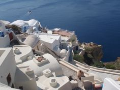 Santorini - Greece...I can't believe I've stood in this very spot.  Summer 2010.