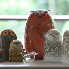 Birds by Toikka Uhuu iittala