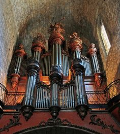 ✯ Church Organ - Provence, France