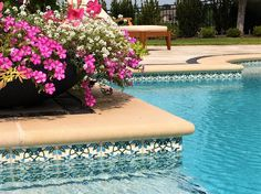 Swimming Pool Designs & Waterline Pool Liners - Balian Tile Studio
