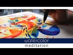 Flowers of Asia: Mother Nature Watercolor Painting - YouTube