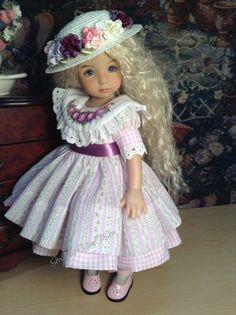 """Purple Enchantment "" 7 Piece Ensemble Set for Effner 13"" Little Darling | eBay"