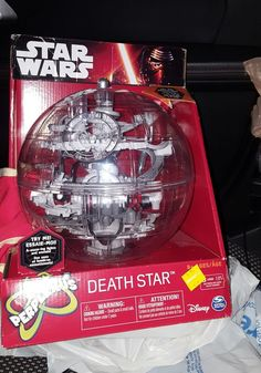 Star Wars Perplexus Death Star Toy Marble Run Lights Up This Thing is Awesome #Disney