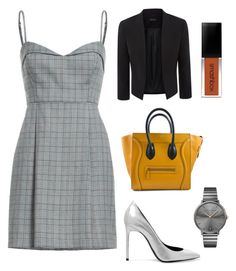 """Off for a meeting"" by nadoushi on Polyvore featuring Yves Saint Laurent and Rebecca Minkoff"