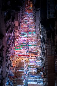Neon-Hued Streets of Asian Cities by Marcus Wendt