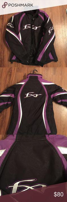Women's FXR winter jacket Women's FXR winter jacket. Great condition. Wore a few times. Purple. Size 6. Medium. FXR Jackets & Coats Utility Jackets