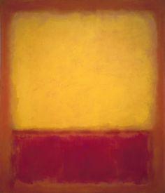 Finding the Lighter Side of Mark Rothko | Big Think Mark Rothko. Yellow over Purple, 1956. 69 1/2 × 59 3/8 in. (177.2 × 150.8 cm). Private Collection.