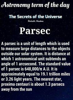 So 12 parsecs really is impressive.                                                                                                                                                                                 More