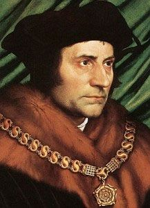 St. Thomas More, saint and martyr, an uncompromsing man who teaches us today