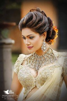 Sri Lankan fashion - Chulakshi Ranatunga - Jewelry by - Elly Creations