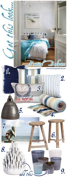 Get The Look: Nautical Bedroom