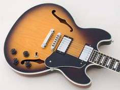 GIBSON-MIDTOWN-CUSTOM-SEMI-HOLLOW-ES-335-TYPE-EXCELLENT-CONDITION-OHSC-MID-TOWN