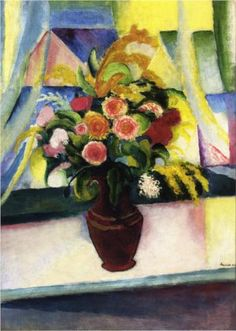 August Macke (German, 1887-1914): Untitled, 1913, private collection