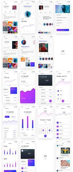 70 Best UI Kits images in 2019 | Ui kit, Ui design, App design