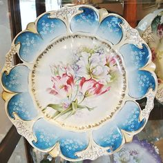 Antique Porcelain RS Prussia Cake Plate 11 by PattysPorcelainEtc, $229.00