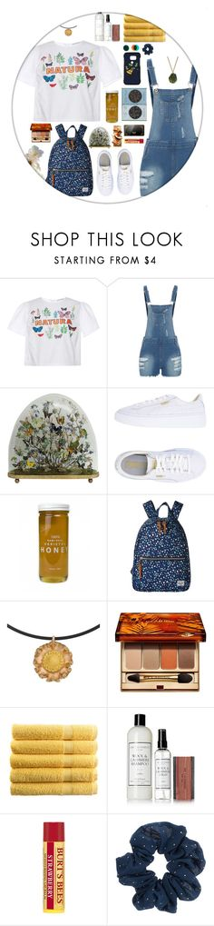 """""""L.A baby"""" by barr4cuda ❤ liked on Polyvore featuring VIVETTA, Puma, Bee Raw Honey, Herschel Supply Co., Clarins, Sony, Nintendo, The Laundress, Burt's Bees and Kenneth Cole"""