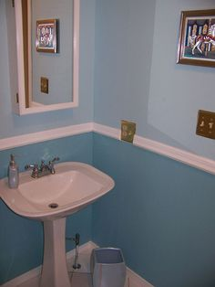 1000 Images About Two Tone Room Colors On Pinterest Two