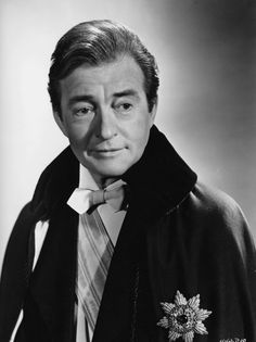 """Claude Rains (1889-1967) born William Claude Rains in England.  English child at 11 on stage & later screen.  American film debut in 1933 movie """"The Invisible Man.""""  Wonderful actor with career spanning 46 years."""