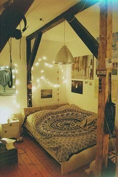 Rustic chic boho bedroom