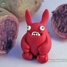 橡皮泥DIY-我们捏怪兽吧!-创意生活,手工制作╭★肉丁网