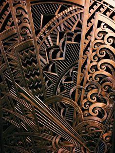 nelsoncarpenter: fernpop: art deco radiator grills the chanin building